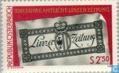 Postzegels - Oostenrijk [AUT] - Linzer Zeitung 350 jaar