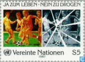 Postage Stamps - United Nations - Vienna - Campaign against drug abuse