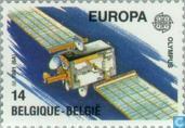 Briefmarken - Belgien [BEL] - Europa – Weltraumfahrt