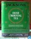 Blikken en trommels - Jacksons of Piccadilly - JACKSONS Irish Morning tea (Groen blik)