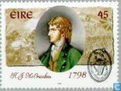 Postzegels - Ierland - Opstand 1798