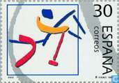 Postage Stamps - Spain [ESP] - Olympic Games- Barcelona