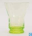 Glass / crystal - Kristalunie - Libel Waterglas vert-chine
