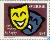 Briefmarken - Schweden [SWE] - 385 mehrfarbige