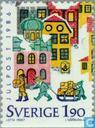 Postzegels - Zweden [SWE] - 180 meerkleurig