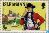 Postage Stamps - Man - Wilks, Mark
