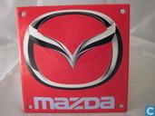 Emaille Bord : ''Mazda''