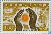 Postage Stamps - France [FRA] - Saving energy