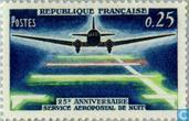 25ième anniversaire du service aéropostal de nuit