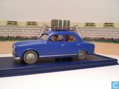 """De taxi van Molensloot uit """"De juwelen van Bianca Castafiore"""""""