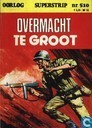 Comic Books - Ironside - Overmacht te groot