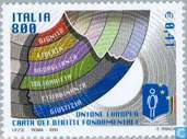 Postage Stamps - Italy [ITA] - European Charter