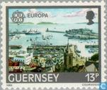 Postage Stamps - Guernsey - Europe – Human Genius
