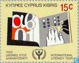 Postage Stamps - Cyprus [CYP] - Literacy Year