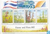 Postage Stamps - Ireland - Orchids