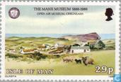 Timbres-poste - Man - Manx Museum 1886-1986