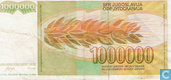 Banknotes - Yugoslavia - 1985-1989 Issue - Yugoslavia 1 Million Dinara 1989