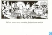 Ansichtkaarten - Bommel en Tom Poes - Olivier B. Bommel Wensen 'als je begrijpt wat ik bedoel' kaart 02