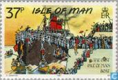 Postage Stamps - Man - Classic postcards