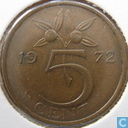Pays-Bas 5 cent 1972