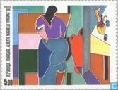 Postzegels - Frankrijk [FRA] - Schilderij Alberto Magnelli