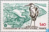 Postage Stamps - France [FRA] - Preserving coastal and riparian landscape