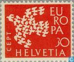 Postage Stamps - Switzerland [CHE] - Europe – Flying Pigeons