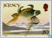 Postzegels - Jersey - Europa - Sagen en legenden