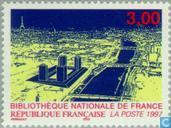 Bibliothèque nationale à Paris