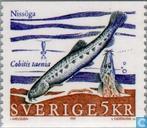 Postzegels - Zweden [SWE] - Zeldzame zoetwatervissen