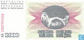 Bankbiljetten - Bosnië en Herzegovina - 1992-1993 Issue - Bosnië en Herzegovina 1.000 Dinara 1992