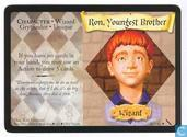 Trading cards - Harry Potter 5) Chamber of Secrets - Ron, Youngest Brother