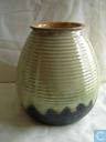 Ceramics - ADCO (Groninger Steenfabrieken) - ADCO Vaas 1014 druipglazuur