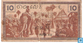 Banknotes - Gouvernment General de L´Indochine - French Indo China 10 Cents