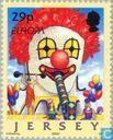 Postage Stamps - Jersey - Europe – The Circus