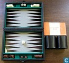Jeux de société - Backgammon - Backgammon in kleine koffer