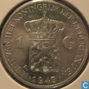 Coins - the Netherlands - Netherlands 1 gulden 1943 (palm tree and D)