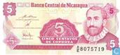 Bankbiljetten - Banco Central de Nicaragua - Nicaragua 5 Centavos