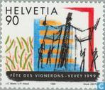 Postzegels - Zwitserland [CHE] - Winzerfest Vevey