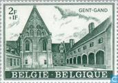 Postage Stamps - Belgium [BEL] - Bijloke Abbey Hospital