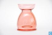 Verre / Cristal - Leerdam - Lisse Bollenglas rood