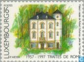 Postage Stamps - Luxembourg - Treaty of Rome 40 years