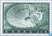 Briefmarken - Griechenland - Tourismus