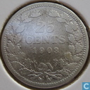Coins - the Netherlands - Netherlands 25 cents 1903