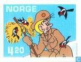 Briefmarken - Norwegen - Comics