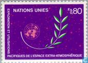 Postzegels - Verenigde Naties - Genève - Conferentie UNISPACE '82