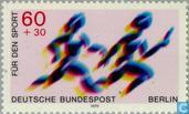 Briefmarken - Berlin - Sporthilfe