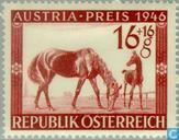 Briefmarken - Österreich [AUT] - Pferderennen