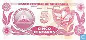 Banknotes - Banco Central de Nicaragua - Nicaragua 5 Centavos
