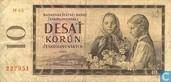 Banknotes - Bankovka Statnej Banky Ceskoslovenskej - Czechoslovakia 10 Korun